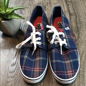 Vans Plaid Classic Sneaker Tennis Shoe